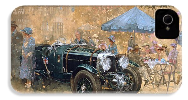 Garden Party With The Bentley IPhone 4 Case by Peter Miller