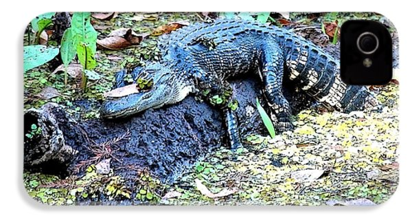 Hard Day In The Swamp - Digital Art IPhone 4 Case