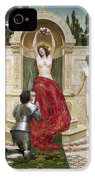In The Venusburg IPhone 4 / 4s Case by John Collier