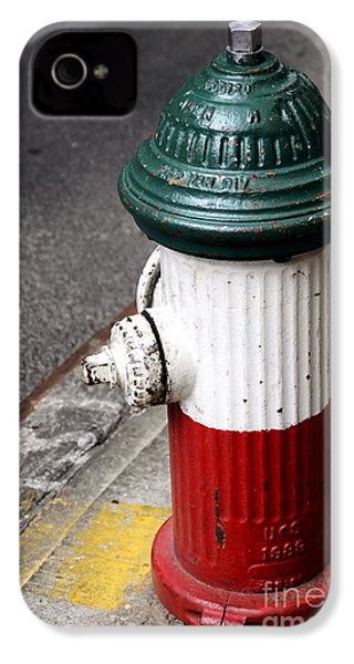 Italian Fire Hydrant IPhone 4 Case by Sophie Vigneault
