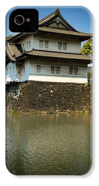 Japan Castle IPhone 4 Case by Sebastian Musial