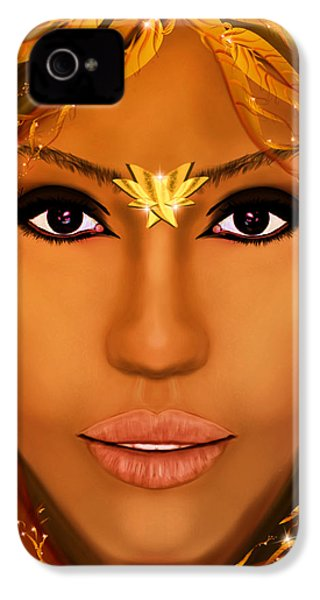 Jessica Alba Fairy Tale IPhone 4 / 4s Case by Mathieu Lalonde