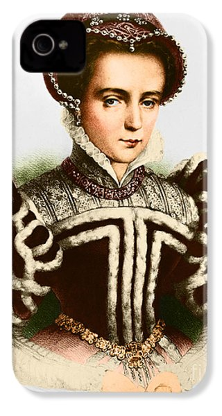 Mary I, Queen Of England And Ireland IPhone 4 Case by Omikron
