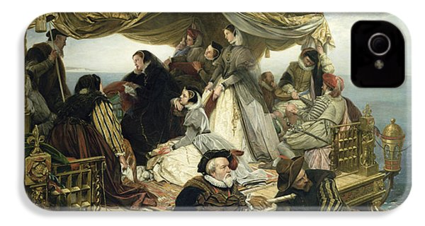Mary Stuart's Farewell To France IPhone 4 Case by Henry Nelson O Neil