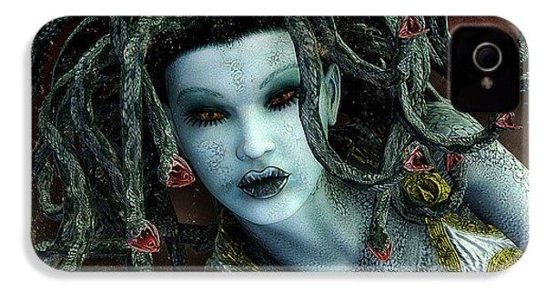 Medusa IPhone 4 / 4s Case by Jutta Maria Pusl