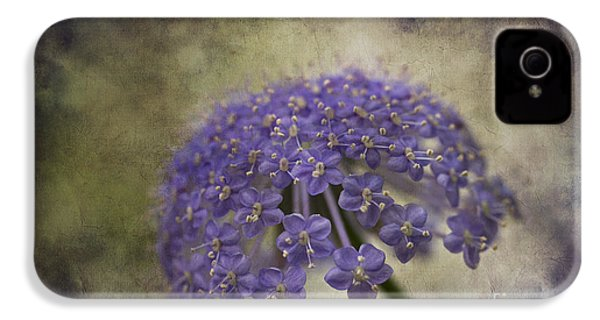 IPhone 4 Case featuring the photograph Moody Blue by Clare Bambers