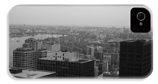 Nyc From The Top 2 IPhone 4 Case by Naxart Studio