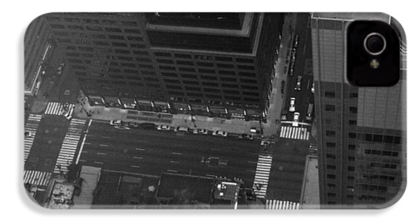 Nyc From The Top IPhone 4 Case by Naxart Studio