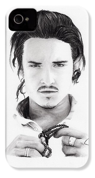 Orlando Bloom IPhone 4 / 4s Case by Rosalinda Markle