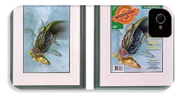 Pike Fishing Original And Magazine IPhone 4 Case