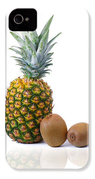 Pineapple And Kiwis IPhone 4 Case