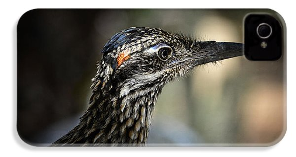 Portrait Of A Roadrunner  IPhone 4 / 4s Case by Saija  Lehtonen