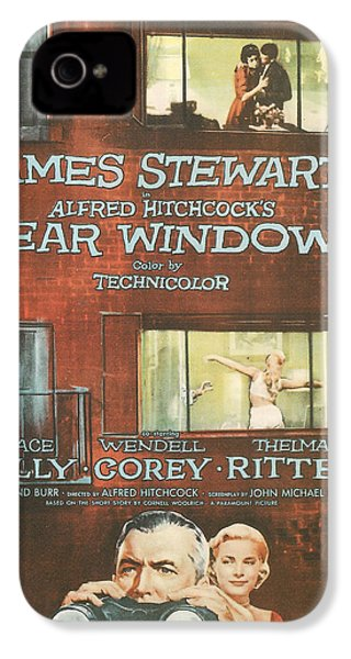 Rear Window IPhone 4 Case by Georgia Fowler