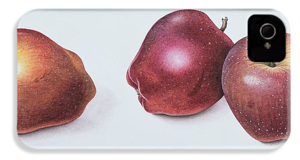 Red Apples IPhone 4 / 4s Case by Margaret Ann Eden