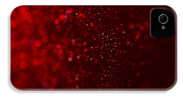 Red Sparkle IPhone 4 Case