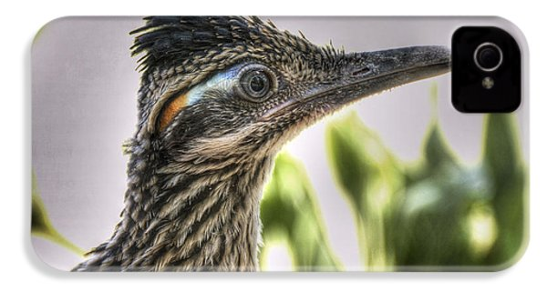 Roadrunner Portrait  IPhone 4 / 4s Case by Saija  Lehtonen