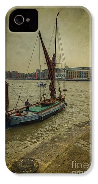 IPhone 4 Case featuring the photograph Sailing Away... by Clare Bambers