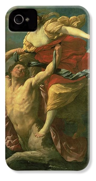 The Abduction Of Deianeira IPhone 4 Case by  Centaur Nessus