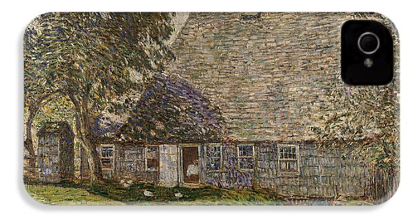 The Old Mulford House IPhone 4 / 4s Case by Childe Hassam