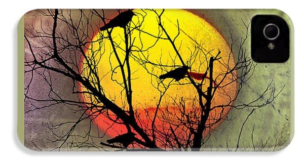 Three Blackbirds IPhone 4 Case by Bill Cannon