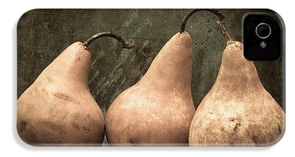 Three Pear IPhone 4 / 4s Case by Edward Fielding