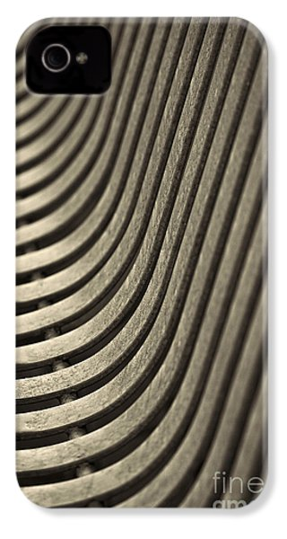 IPhone 4 Case featuring the photograph Upward Curve. by Clare Bambers