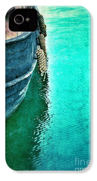 Vintage Ship IPhone 4 Case by Jill Battaglia