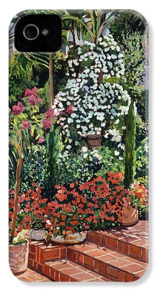 A Garden Approach IPhone 4 / 4s Case by David Lloyd Glover