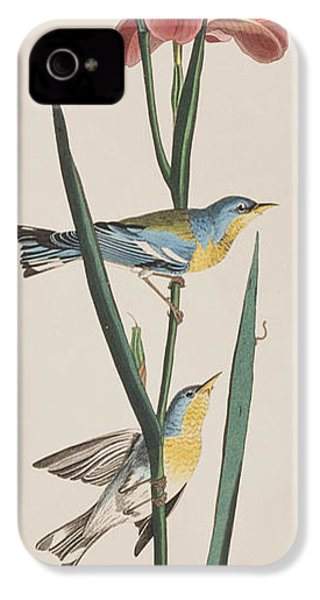 Blue Yellow-backed Warbler IPhone 4 Case
