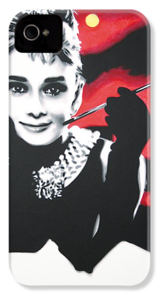 - Breakfast At Tiffannys -  IPhone 4 / 4s Case by Luis Ludzska