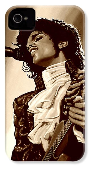 Prince The Artist IPhone 4 Case by Paul Meijering