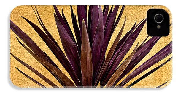 Purple Giant Dracaena Santa Fe IPhone 4 Case by John Hansen