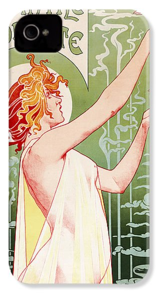 Absinthe Robette IPhone 4 / 4s Case by Henri Privat-Livemont
