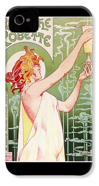 Absinthe Robette IPhone 4 Case by Henri Privat-Livemont