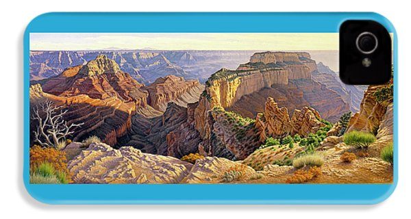 Afternoon-north Rim IPhone 4 Case by Paul Krapf