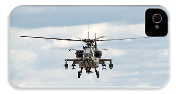Ah-64 Apache IPhone 4 Case by Sebastian Musial