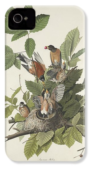 American Robin IPhone 4 Case by Rob Dreyer