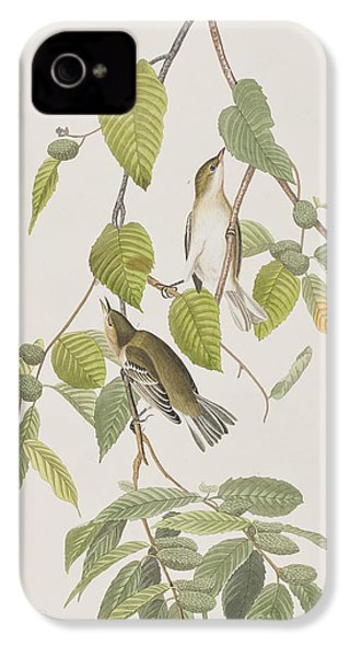 Autumnal Warbler IPhone 4 Case