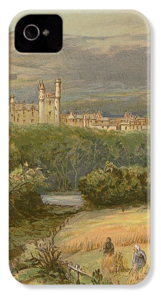 Balmoral Castle IPhone 4 Case by English School