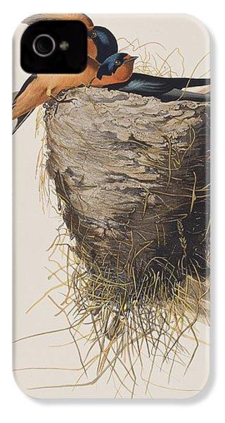 Barn Swallow IPhone 4 Case by John James Audubon