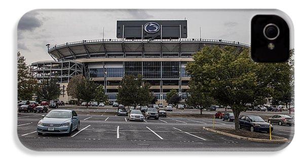 Beaver Stadium Penn State  IPhone 4 Case by John McGraw