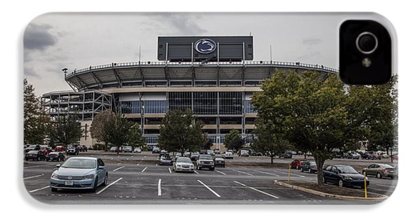 Beaver Stadium Penn State  IPhone 4 / 4s Case by John McGraw