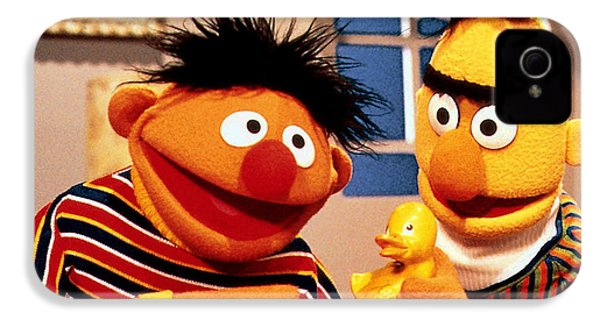 Bert And Ernie IPhone 4 Case