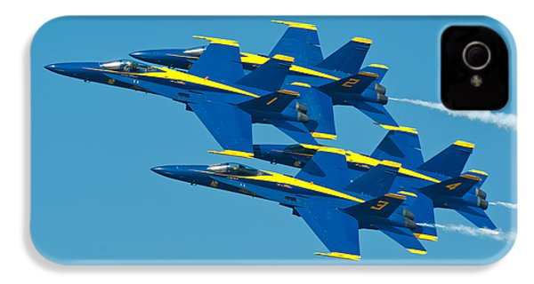 Blue Angels IPhone 4 / 4s Case by Sebastian Musial