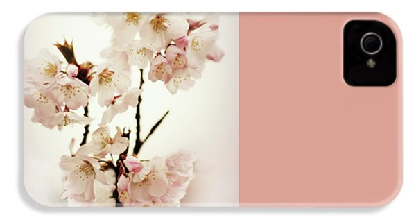 IPhone 4 Case featuring the photograph Blushing Blossom by Jessica Jenney