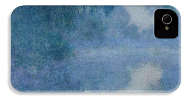 Branch Of The Seine Near Giverny IPhone 4 Case by Claude Monet