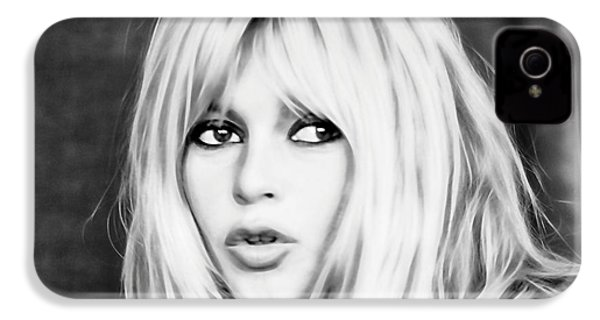 Brigitte Bardot Collection IPhone 4 Case by Marvin Blaine