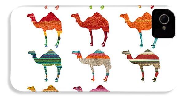 Camels IPhone 4 Case by Art Spectrum