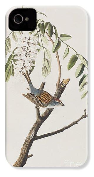 Chipping Sparrow IPhone 4 Case by John James Audubon