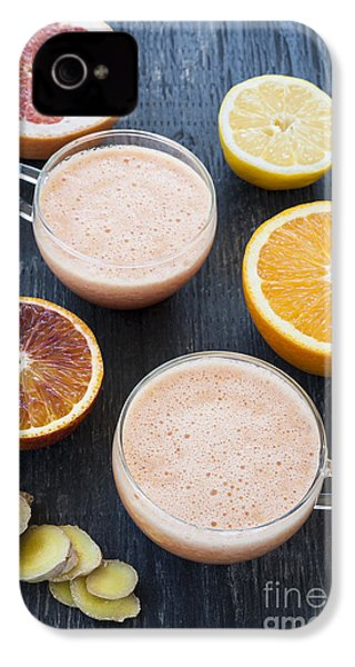 Citrus Smoothies IPhone 4 / 4s Case by Elena Elisseeva
